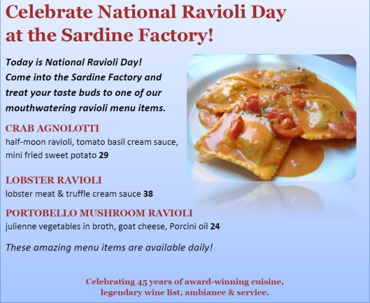 National Ravioli Day